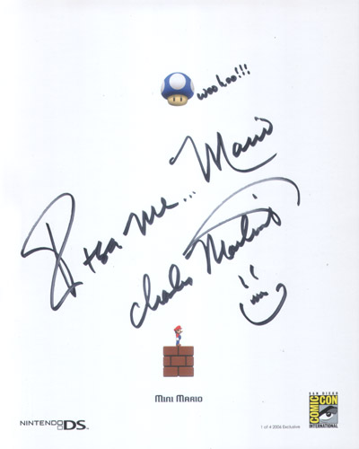 Signature From Charles